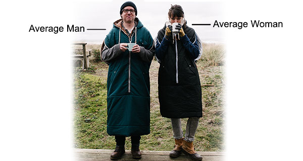 Average Man & Woman