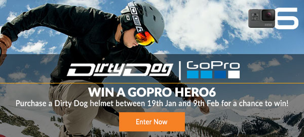 Win a GoPro HERO6<br>Action Camera