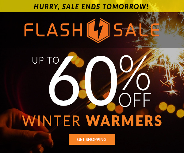 Up To 60% Off Winter Warmers