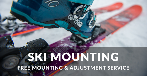 Free Ski Binding Mounting & Adjustment