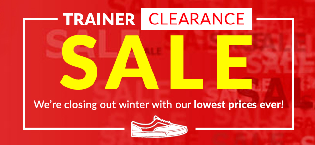 Trainer Sale