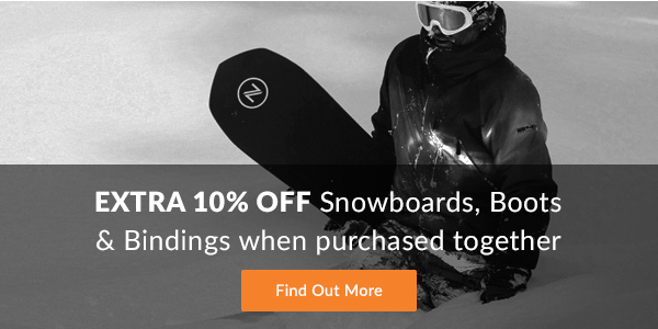 Save 10% on Snowboard Packages