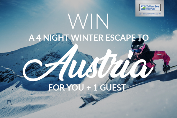 Absolute-Snow: Win a Winter Escape Holiday for 2 to Zell am See - Kaprun
