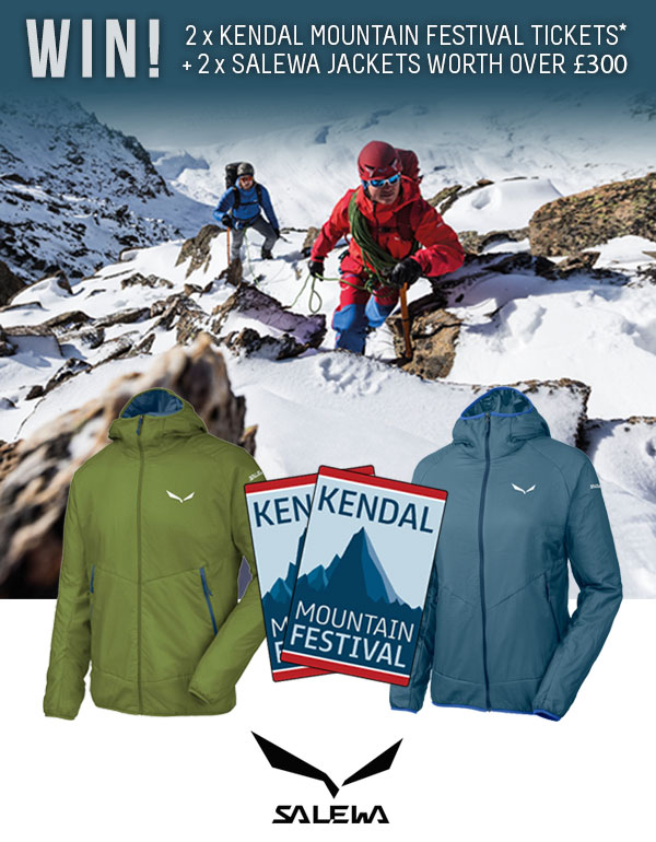 Win Film Tickets & Salewa Jackets