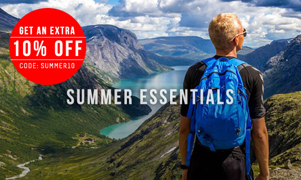 10% Off Selected Summer Essentials