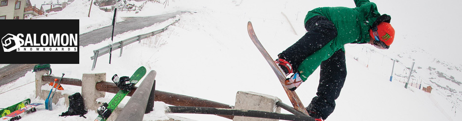 Salomon Brand Header