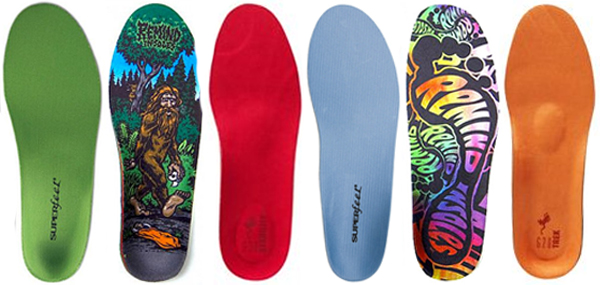 Snowboard Boot Footbeds/Insoles