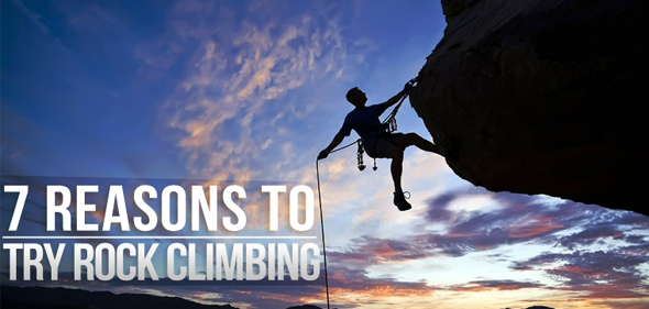 7 Reasons to try rock climbing & bouldering