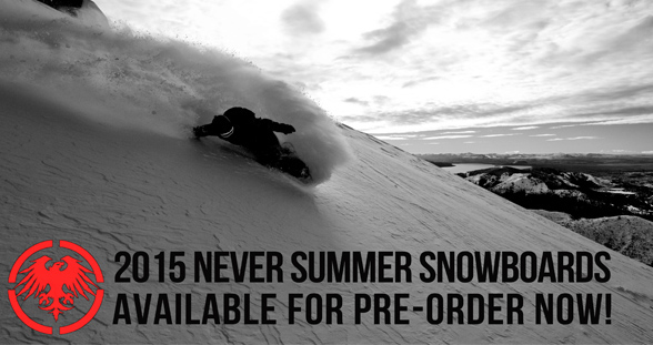 Never Summer 2015 Snowboards