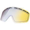 Electric Yellow Blue Lens