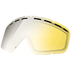 Electric Yellow Silver Lens